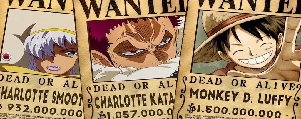 TOP 15 : Les plus grosses Primes de One Piece