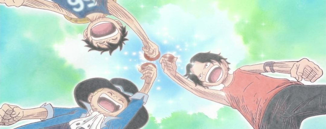 Ace, Sabo & Luffy