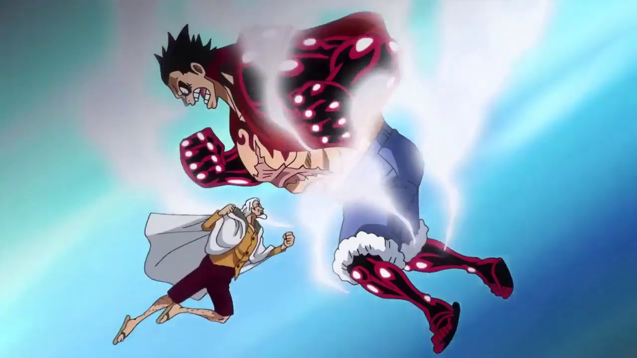 Luffy vs Rayleigh