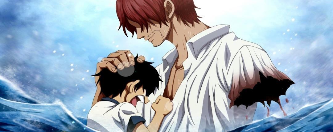 Luffy et Shanks