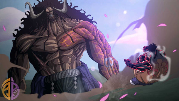 Luffy contre Kaido One Piece