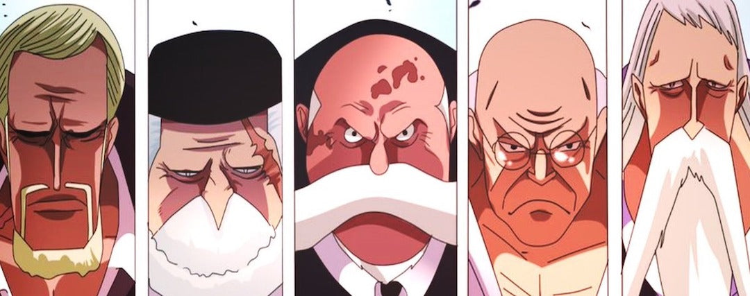 One Piece : les Gorosei