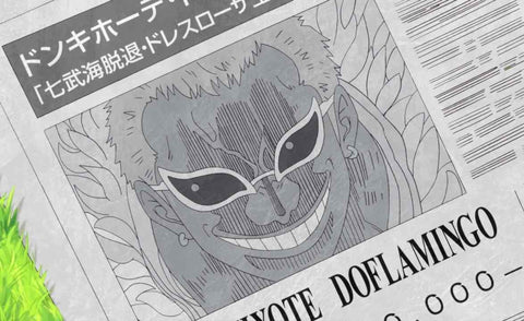 Affiche Wanted Doflamingo One Piece