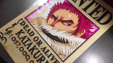 Affiche Wanted Katakuri One Piece
