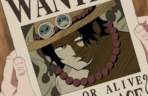 Affiche Wanted Portgas D. Ace One Piece