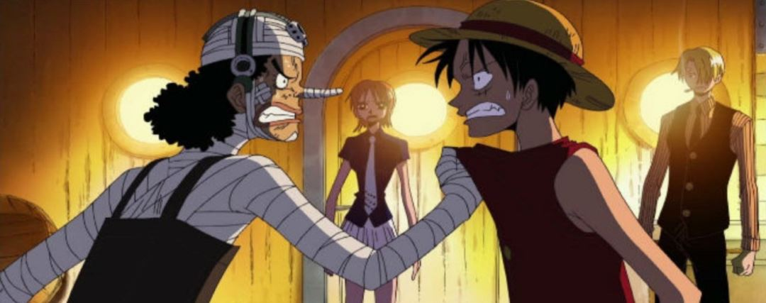 Usopp & Luffy