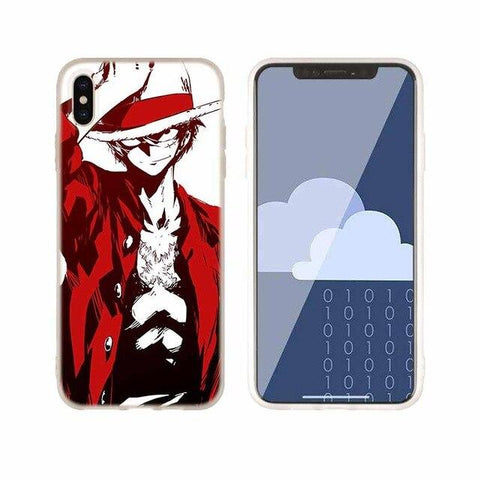 Coque One Piece iPhone Luffy Rouge | OnePiece Sekai