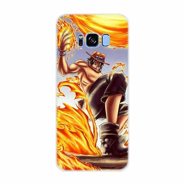 Coque Samsung Ace aux Poings Ardents | OnePiece Sekai