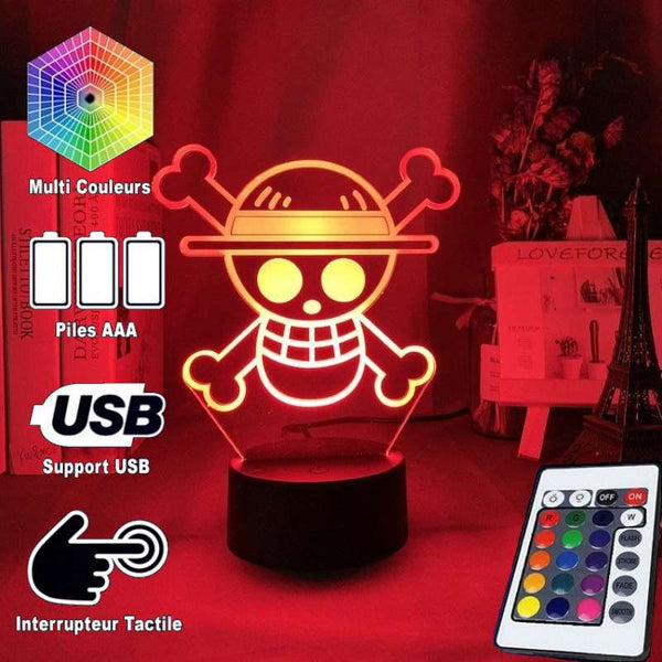 Lampe de Chevet <br> One Piece