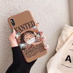Coque iPhone One Piece <br> Wanted