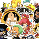 Lot de 60 Autocollants <br> One Piece