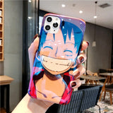 Coque iPhone One Piece <br> Brillante