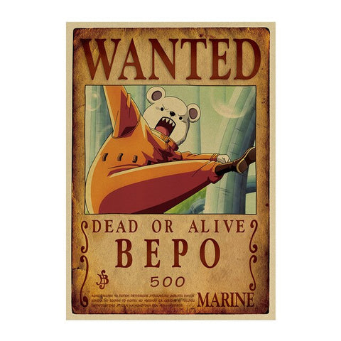 Poster Wanted Bepo