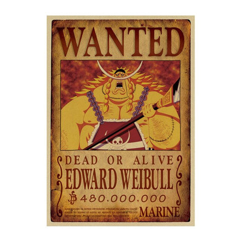 Poster Wanted One Piece Edward Weevil
