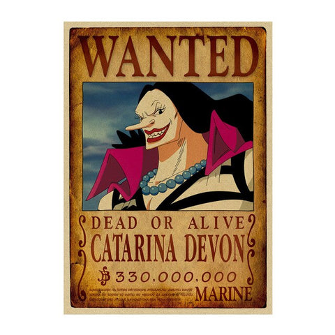 Poster Piece Wanted Catarina Devon