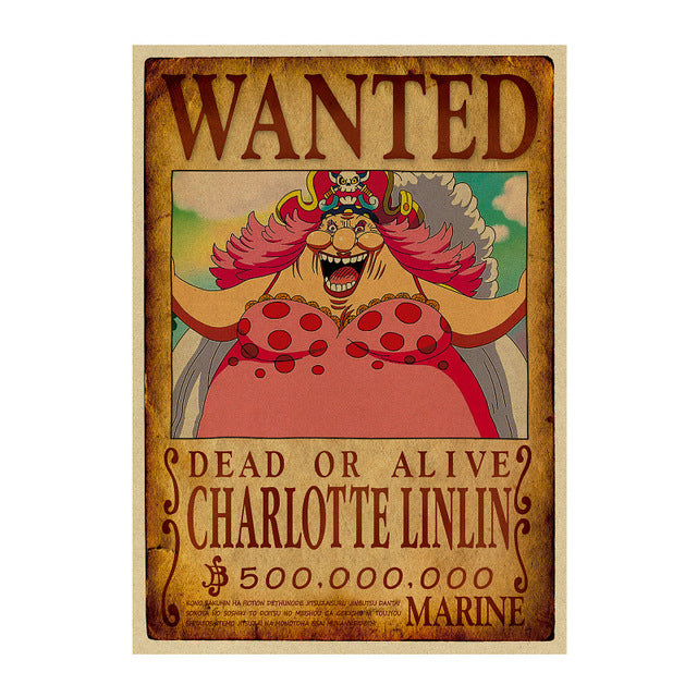 Poster Wanted Big Mom