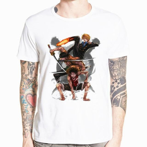 T-Shirt Monster Trio One Piece | OnePiece Sekai