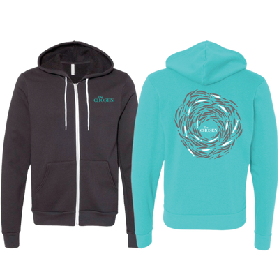 Against the current Zip up Limited Edition Hoodie