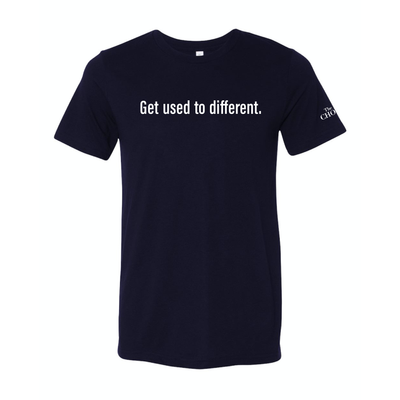 """Get used to different"" Limited Edition Short Sleeve T-Shirt"