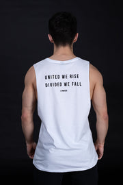 UNITED WE RISE Tank - White