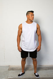 STYLE Tank White Marle
