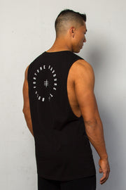 FORTUNE FAVOURS THE BOLD Tank Black