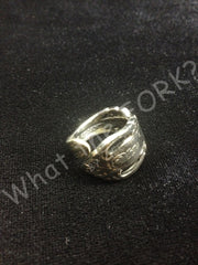 Wrap Around Spoon Handle Ring