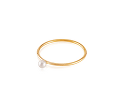 VP Pearl Stackable Ring
