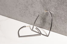 Stirrup Hoop Earrings