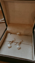 Freshwater Pearl Pebble Earrings