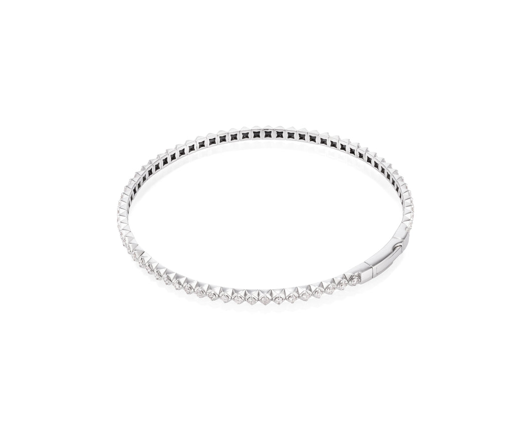 1.01ct Diamond Bracelet in 14kt White Gold