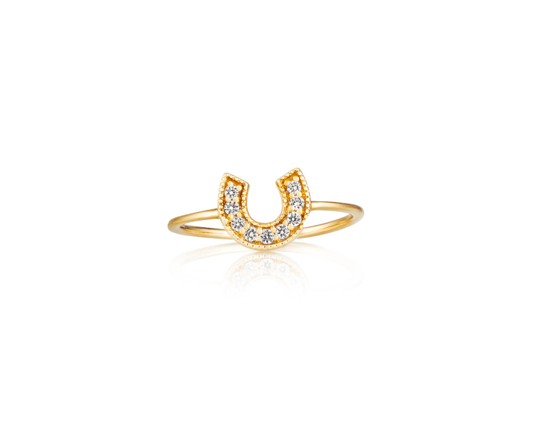 Horseshoe Stackable Ring