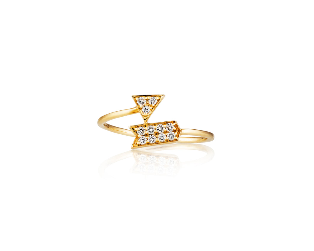 Arrow Stackable Ring