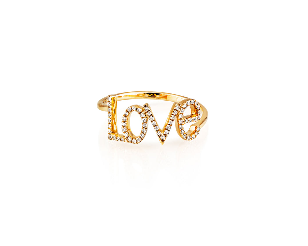 LOVE Stackable Ring