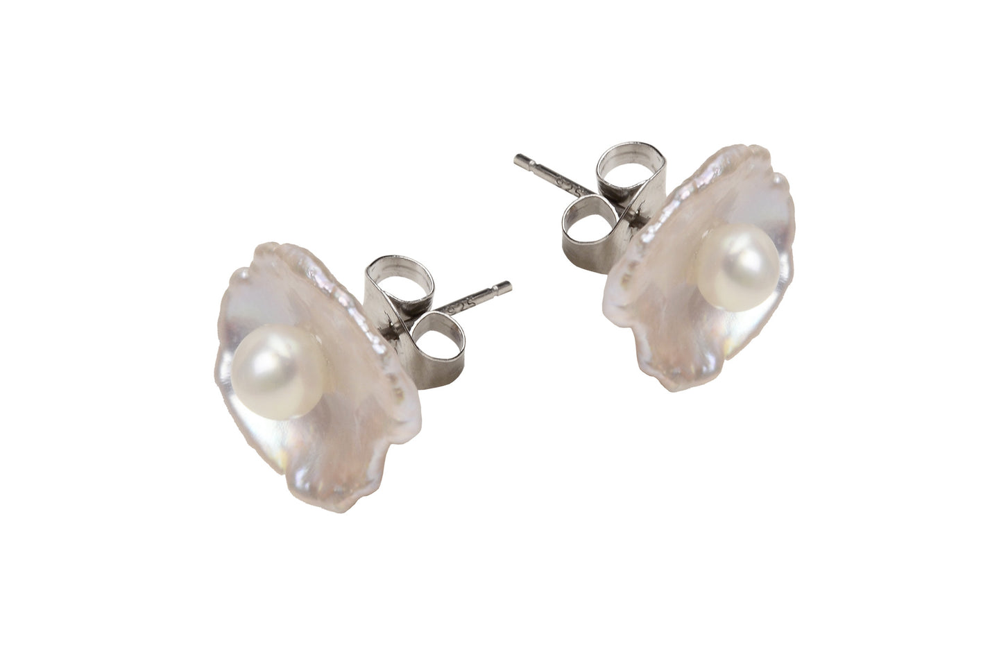 Blooming Stud Earring - Hottest Designer Pearl and Leather Jewelry | VINCENT PEACH