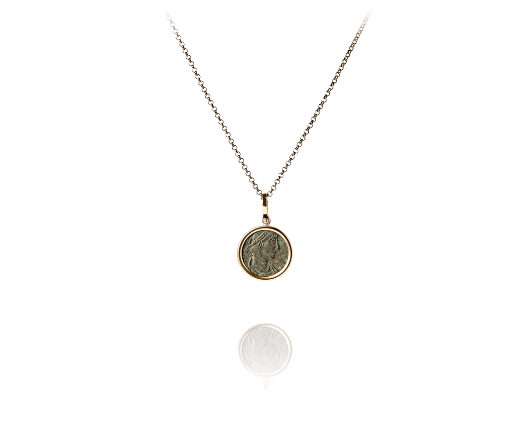 Constantius II Roman Coin Necklace