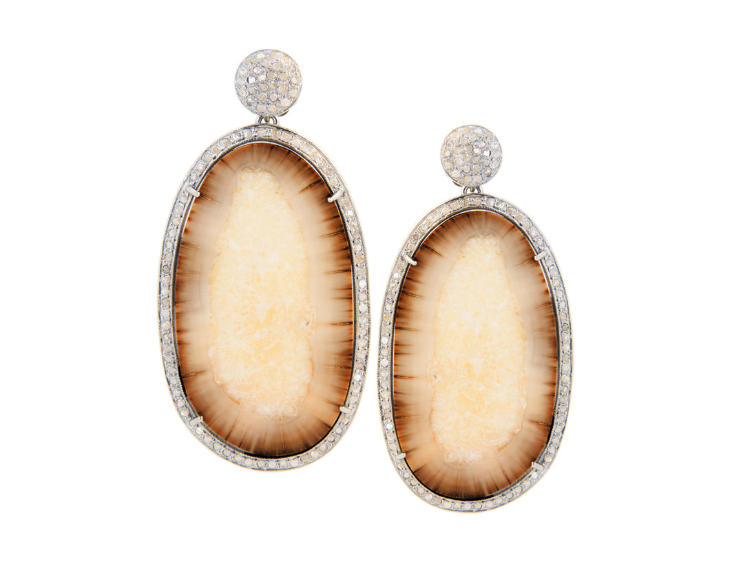 Colmillo Diamond Earrings