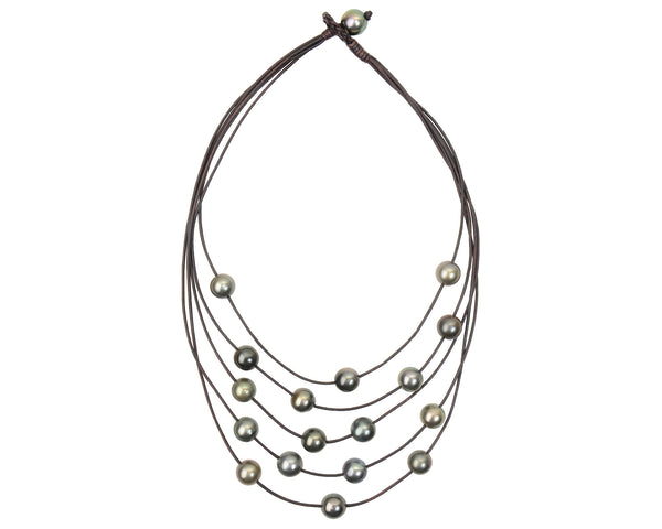Constellation Necklace, Tahitian