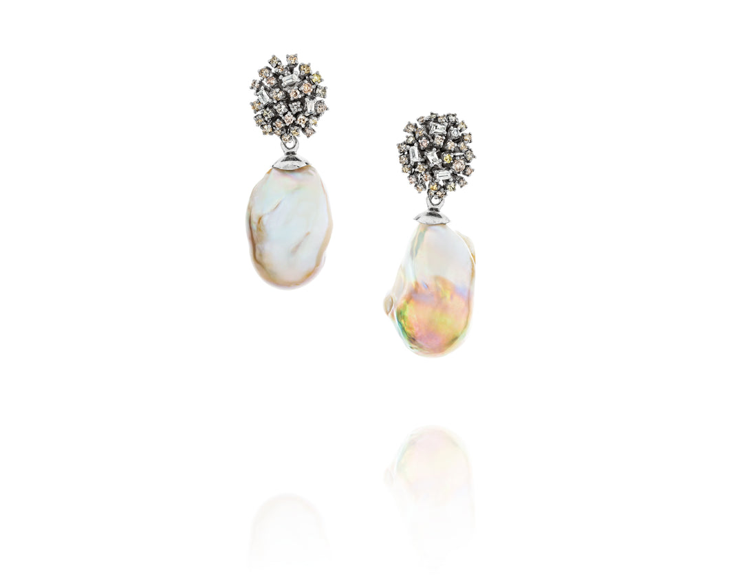 2.29ct Episodic Baroque Earrings