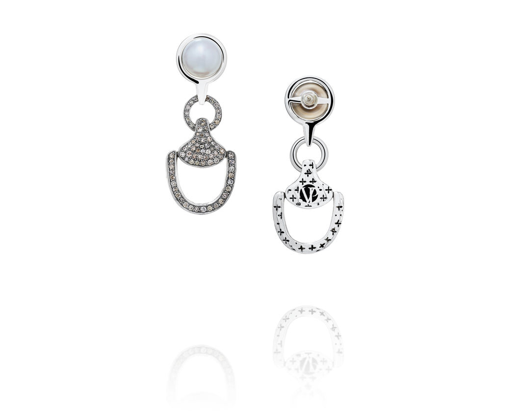 Churchill Downs Diamond Earrings