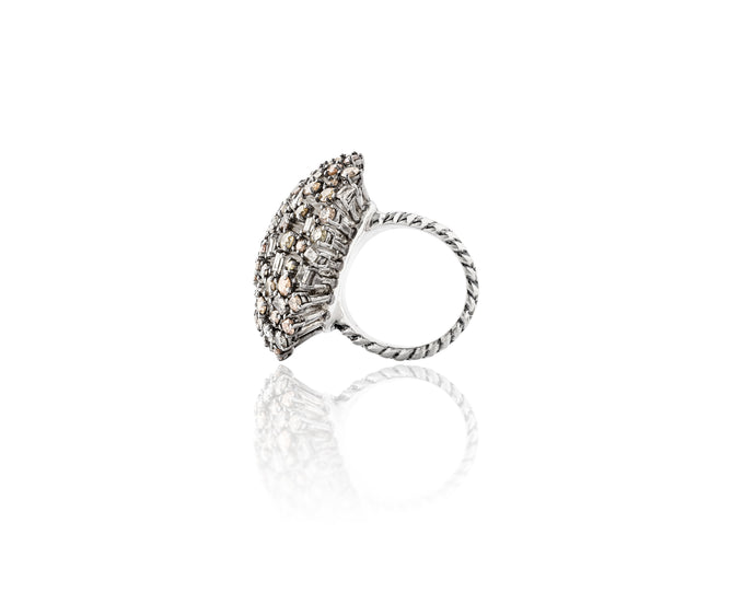 7ct Diamond Bouquet Ring