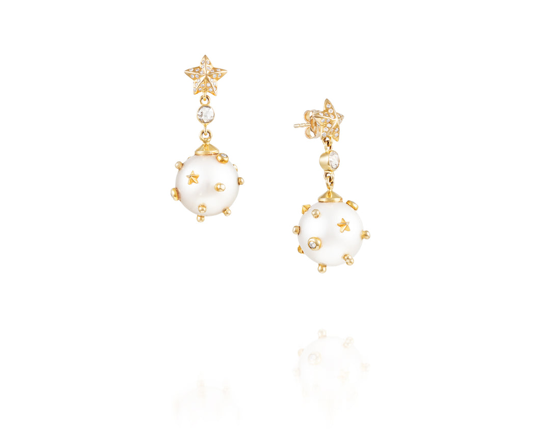 1.9ct Ary Camelot Earrings