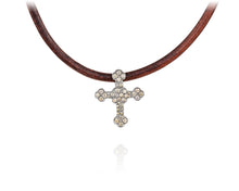 .82ct Diamond Cross Choker