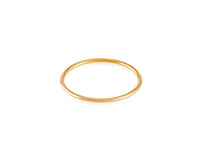 14kt Gold VP Stackable Ring