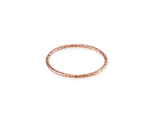 VP Sparkle Stackable Ring | Rose Gold