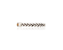 Braided .13ct Single Diamond Ring
