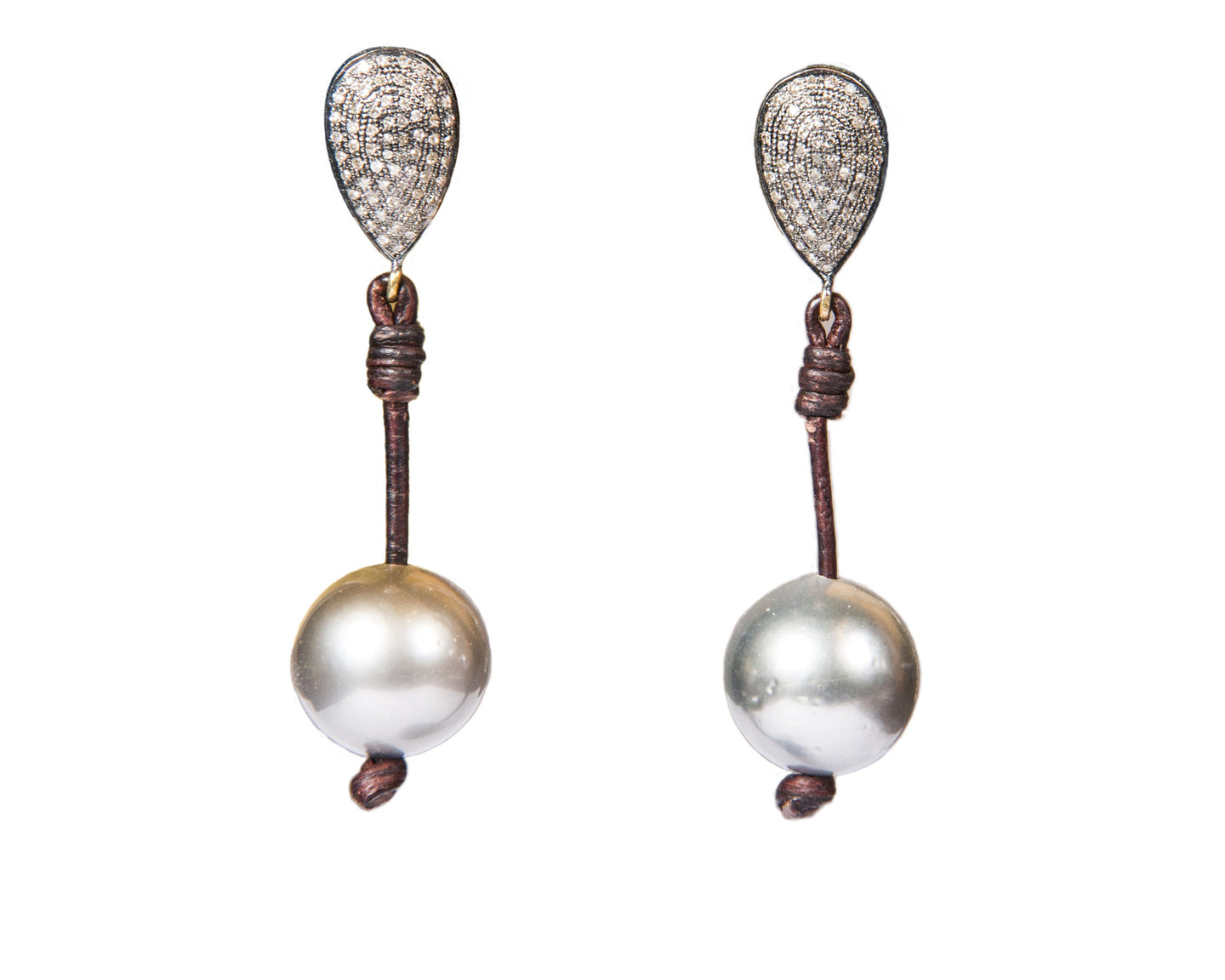Demure Teardrop Earrings