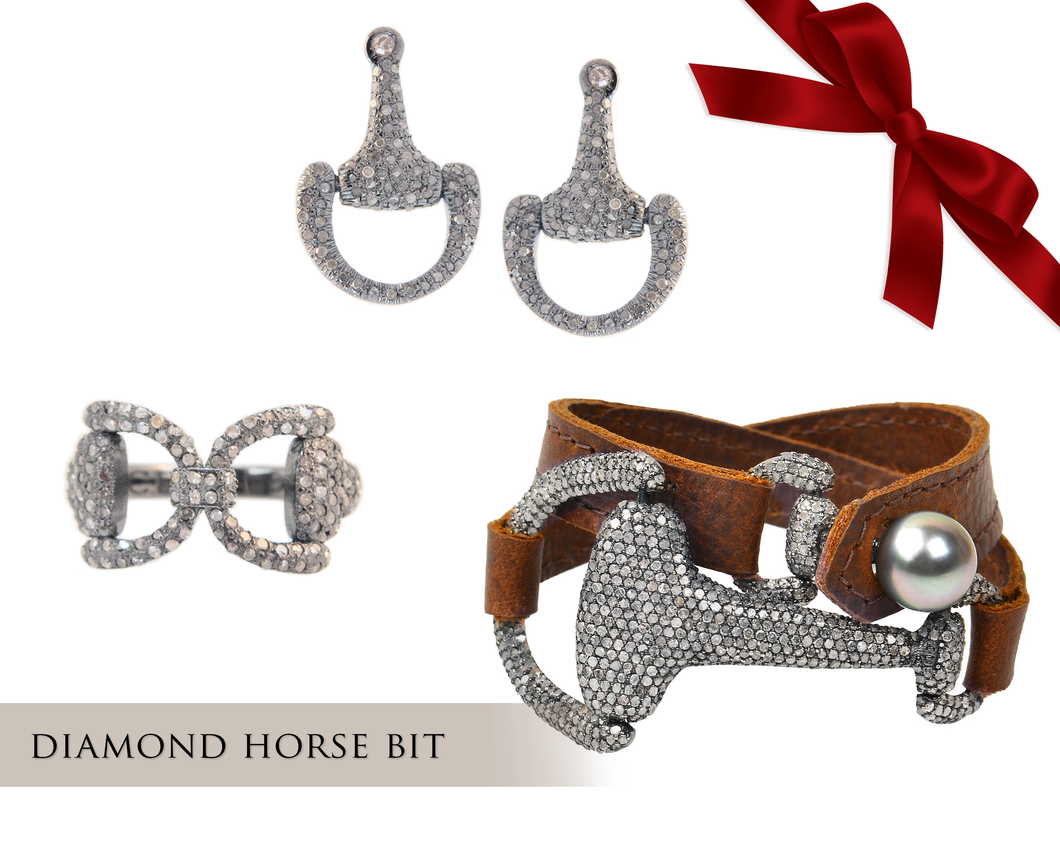 Diamond Horse Bit Gift Set