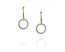 Snaffle Bit Statement Earrings | Diamond