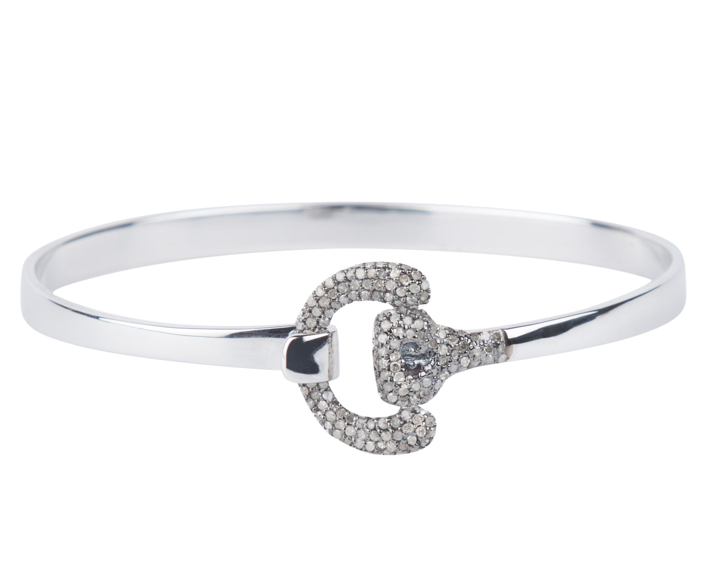 Diamond Equestrian Bangle